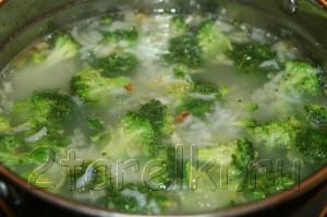IMG 6771 300x199 Рисовый суп с курицей и брокколи
