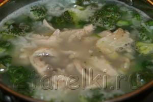 IMG 6774 300x199 Рисовый суп с курицей и брокколи