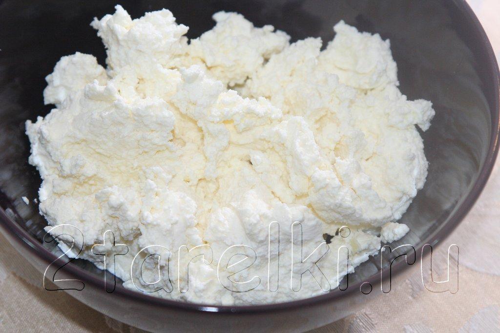 Домашний творог из молока и йогурта