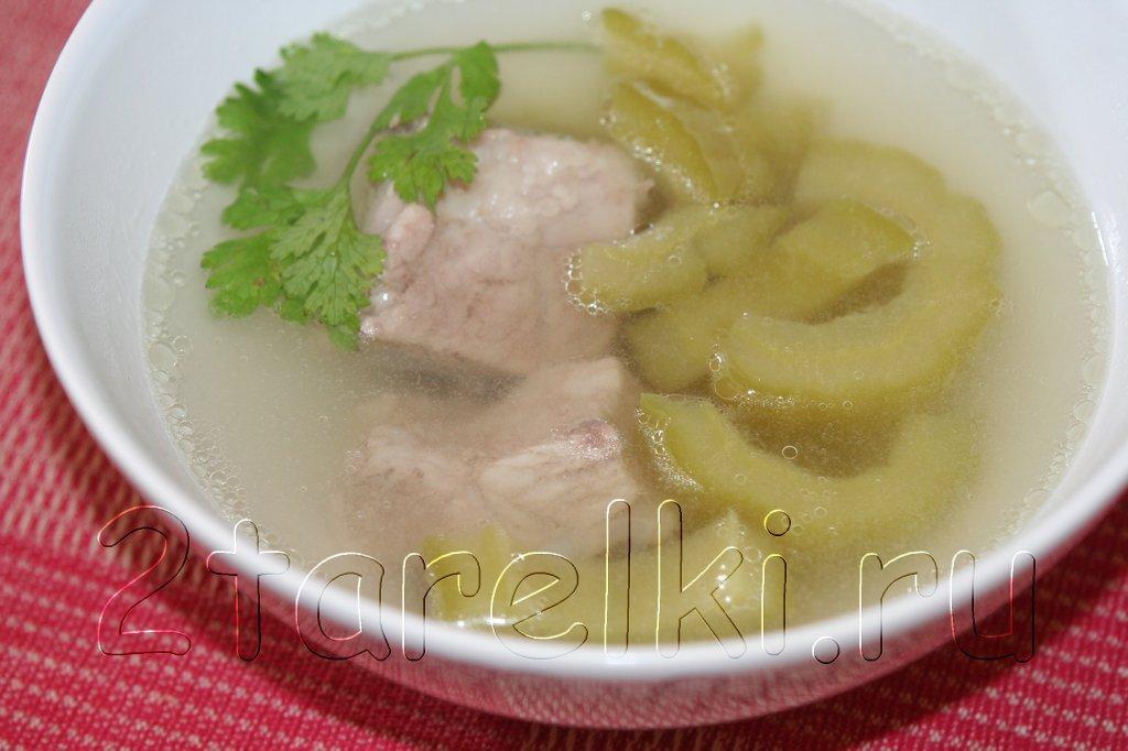 Суп с горькой дыней