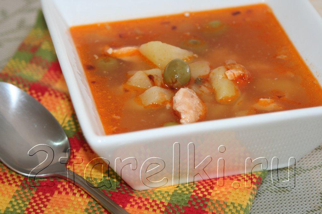 Супы с каперсами рецепты