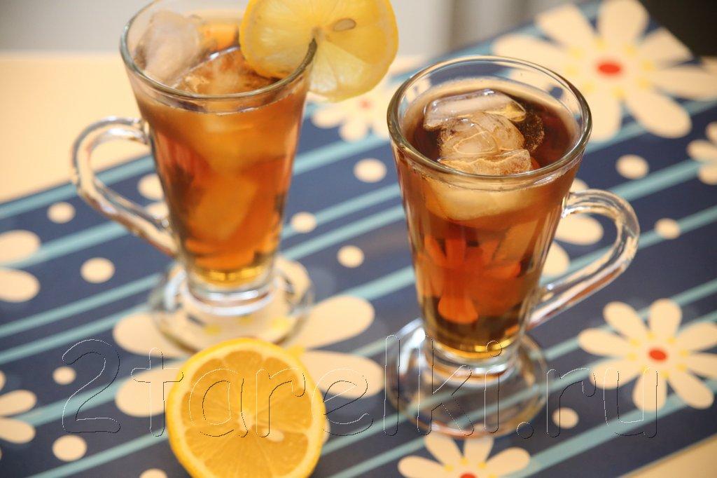 Напиток из шиповника и лимона
