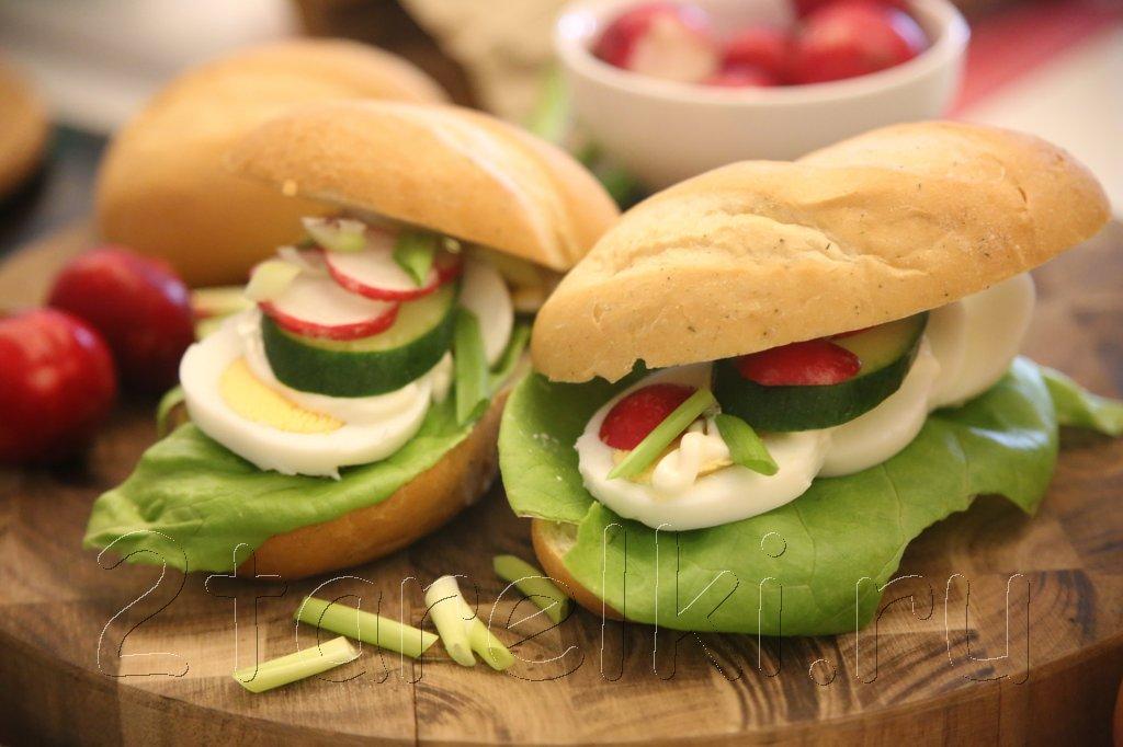 Сэндвичи весенние