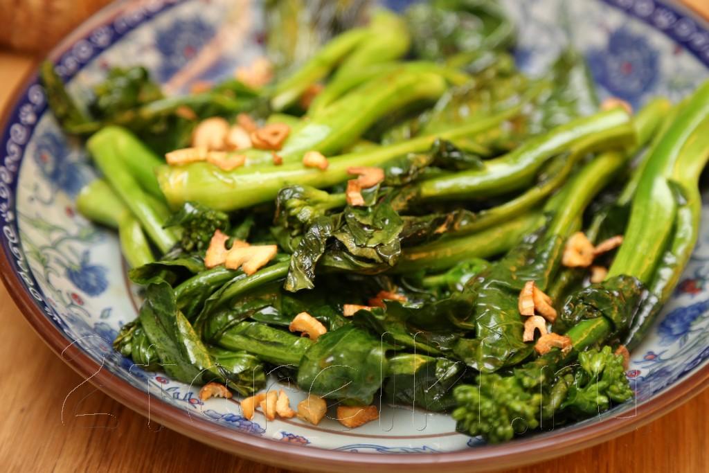 Брокколи в устричном соусе по-китайски