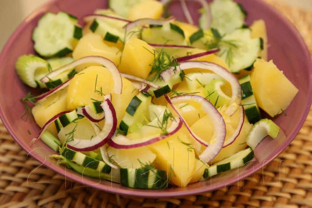 салат с сельдерей и огурцами рецепты