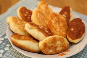 Пирожки с грибами и картошкой