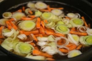 Фасолевый суп из рульки 7
