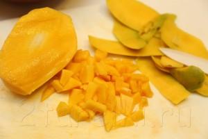 Куриные отбивные с манговой сальсой 3