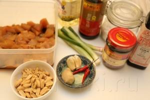 Курица по-китайски с соусом хойсин 1