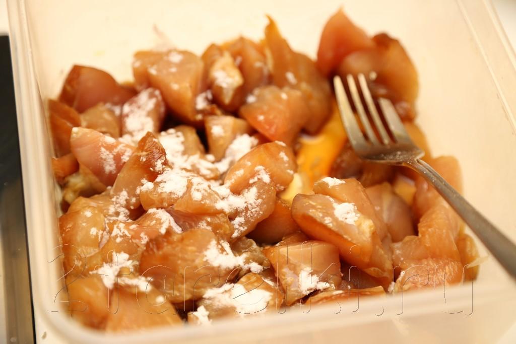 Курица по-китайски с соусом хойсин 2