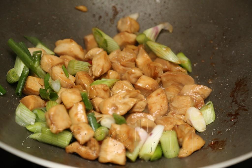 Курица по-китайски с соусом хойсин 9