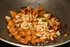 Курица по-китайски с соусом хойсин 10