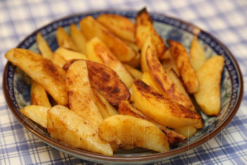 Острые картофельные дольки по-деревенски 3
