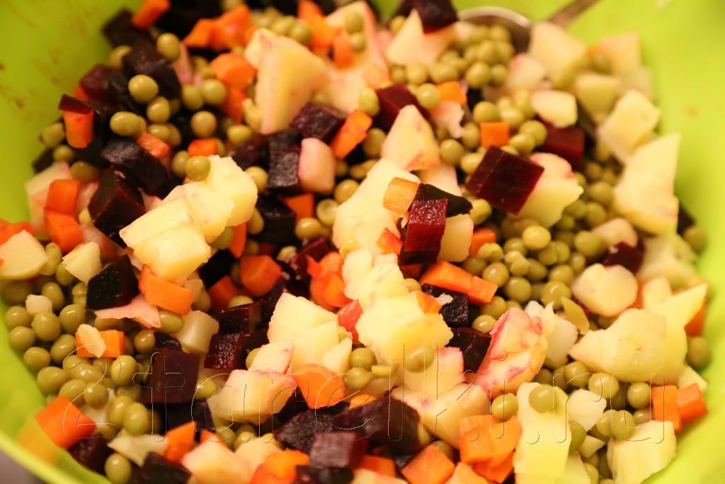 Винегрет с квашенной капустой 2