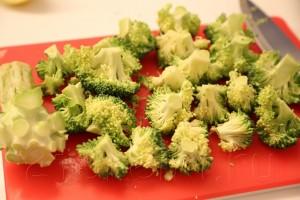 Палтус с овощами на пару 4