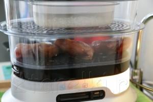 Куриная грудка с рисом в пароварке 3
