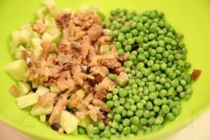 Салат из скумбрии 5