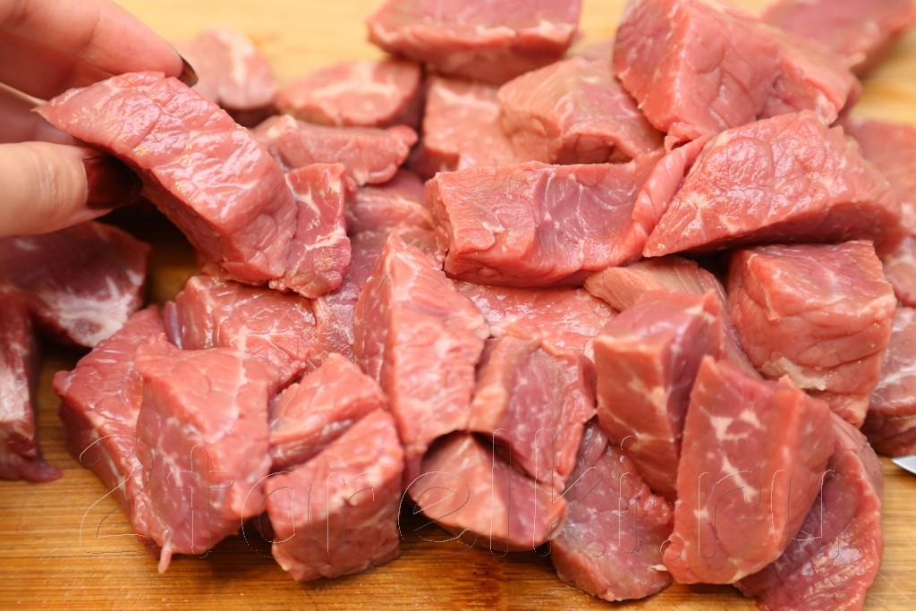 Тушеная говядина с картофелем 2