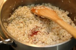 Рис Басмати с шафраном 3