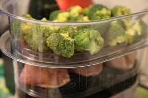 Салат из брокколи и курицы 2