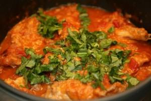 Кролик по-итальянски с томатном соусе с базиликом 11