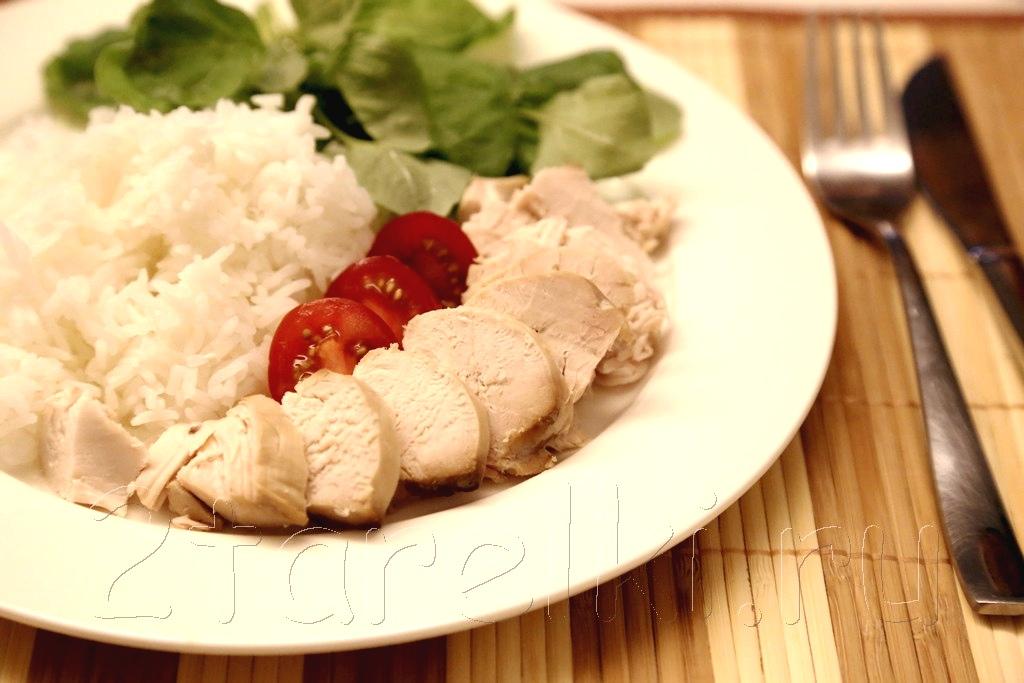куриная грудка с рисом в пароварке