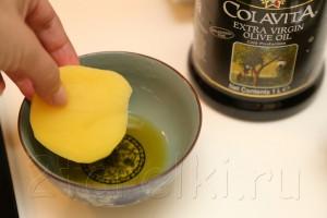 Селедка в горчичном соусе с запеченной картошкой 1