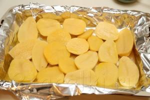 Селедка в горчичном соусе с запеченной картошкой 2