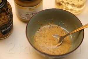 Селедка в горчичном соусе с запеченной картошкой 5