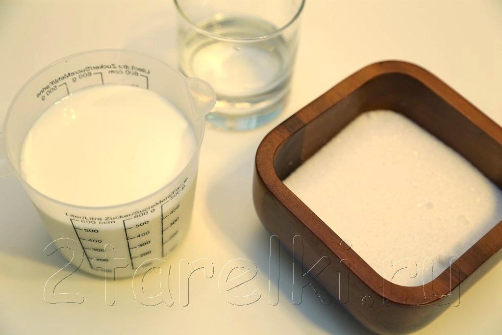 Домашнее сгущенное молоко 1