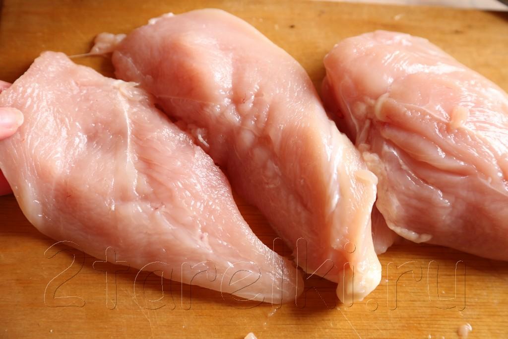 Куриное филе на мангале 2