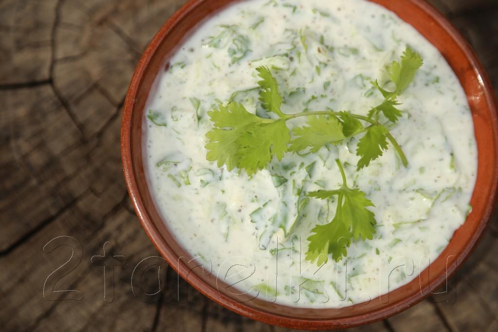 Йогуртовый соус к шашлыку 7