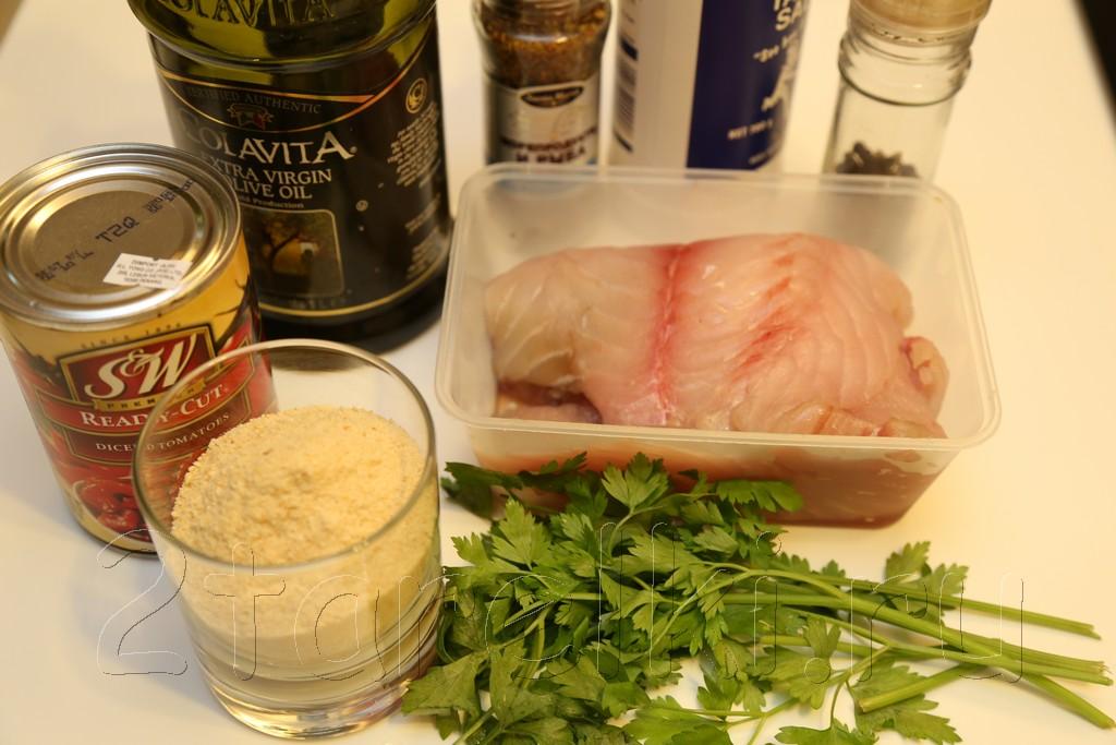 Рецепт рыбы с острова Спетсес 1