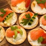 Закусочные бутербродики с семгой «Ассорти»