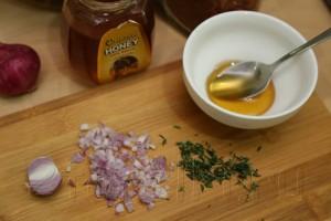 Запеченная в меду семга 2