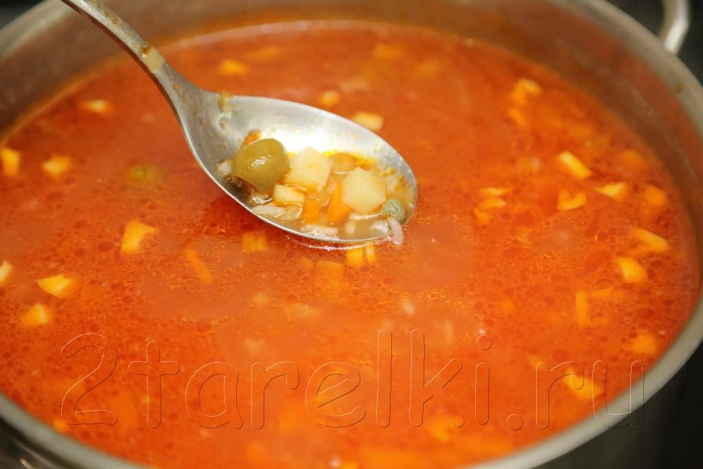 Рыбный суп по-веракрусски 13