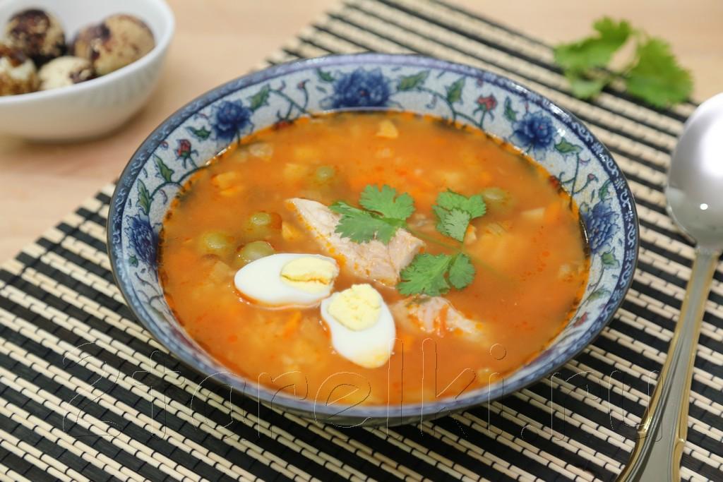 Рыбный суп по-веракрусски