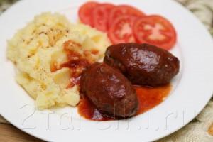 Котлеты в томатном соусе по-турецки