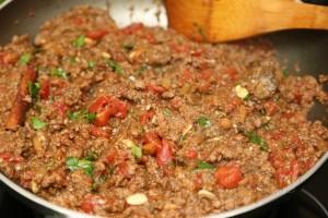 Мясо с баклажанами по-турецки 8