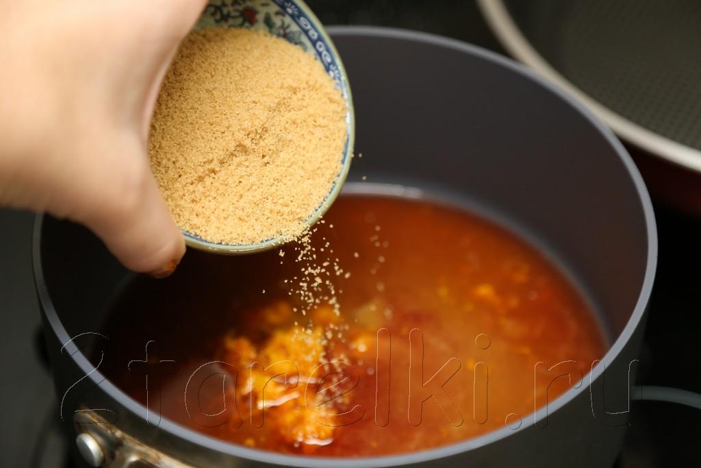 Клюквенно-апельсиновый соус 5