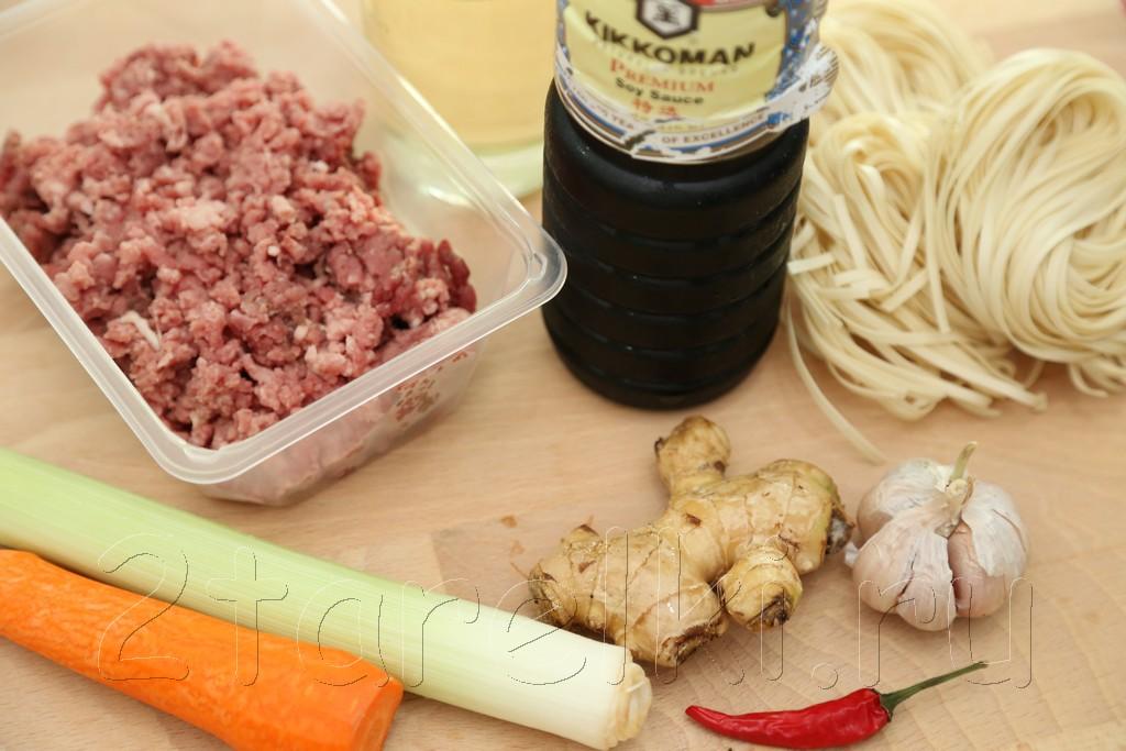 Суп с фрикадельками по-азиатски 1