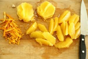 """Салат с кус-кусом и апельсинами """"Магриб"""" 4"""