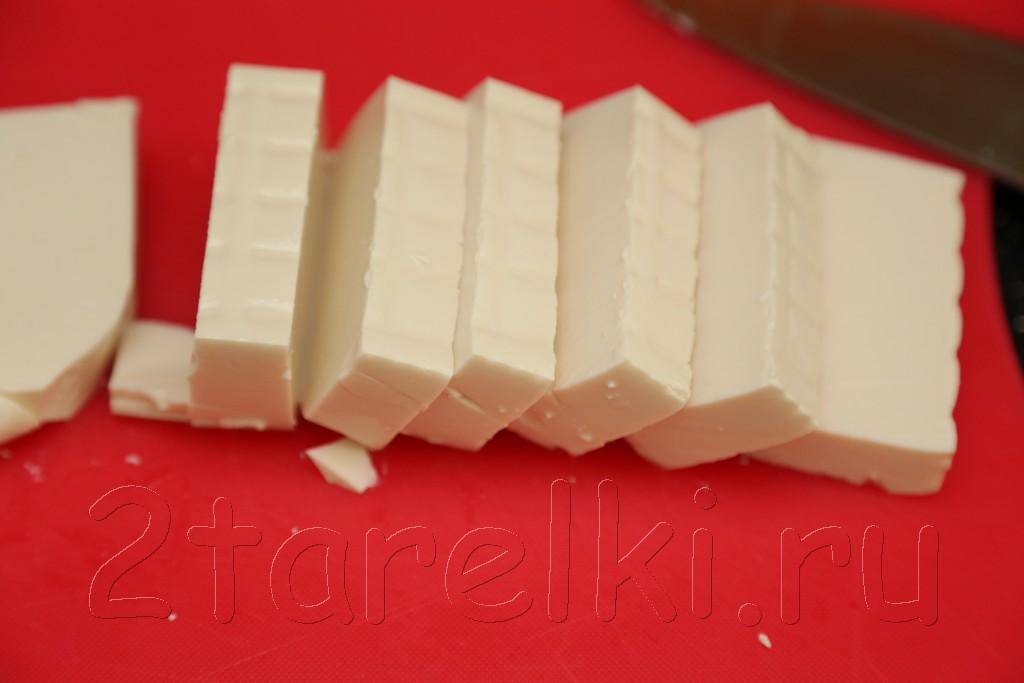 Тофу в апельсиновом маринаде 2