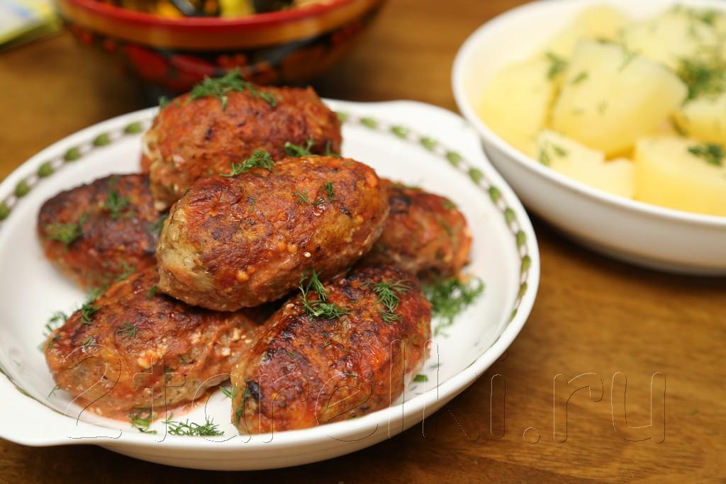 """Котлеты из мяса и овощей """"Дачные"""""""