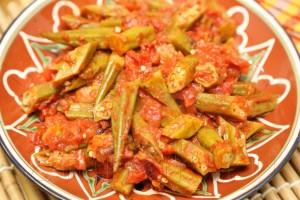 Бамия (окра) в томатном соусе 7
