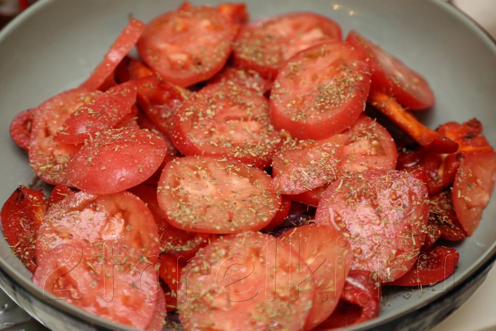 Пикантная овощная закуска-салат для шашлыка 9
