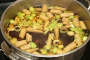 Грибной суп с креветками и овощами по-азиатски 6