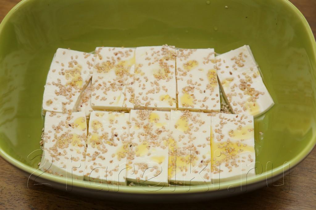 Запеченный тофу с кунжутом 4