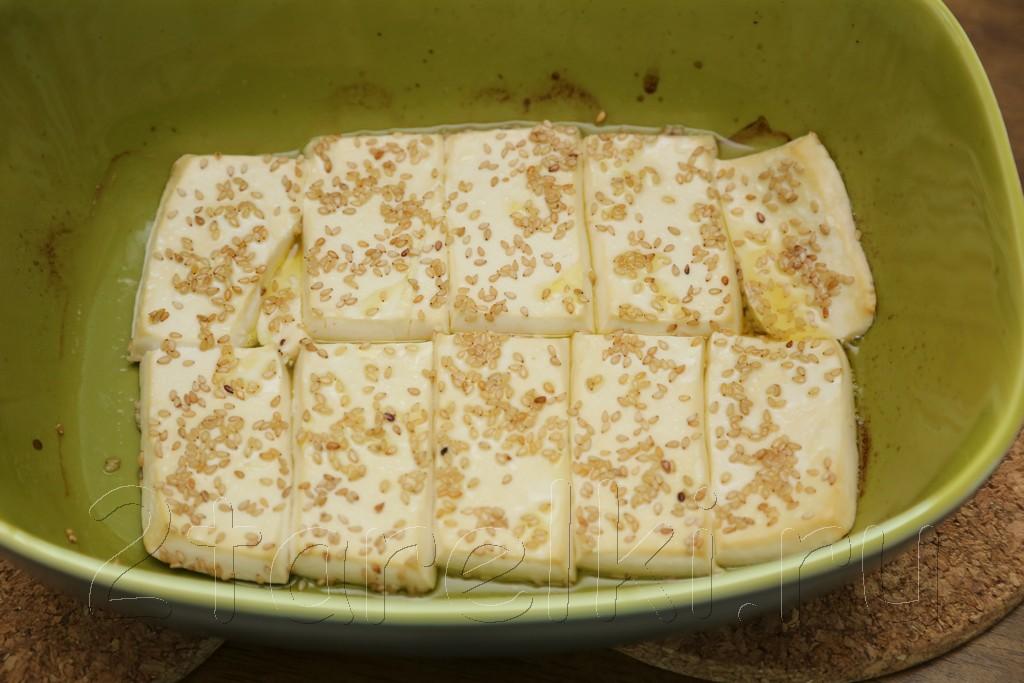 Запеченный тофу с кунжутом 5