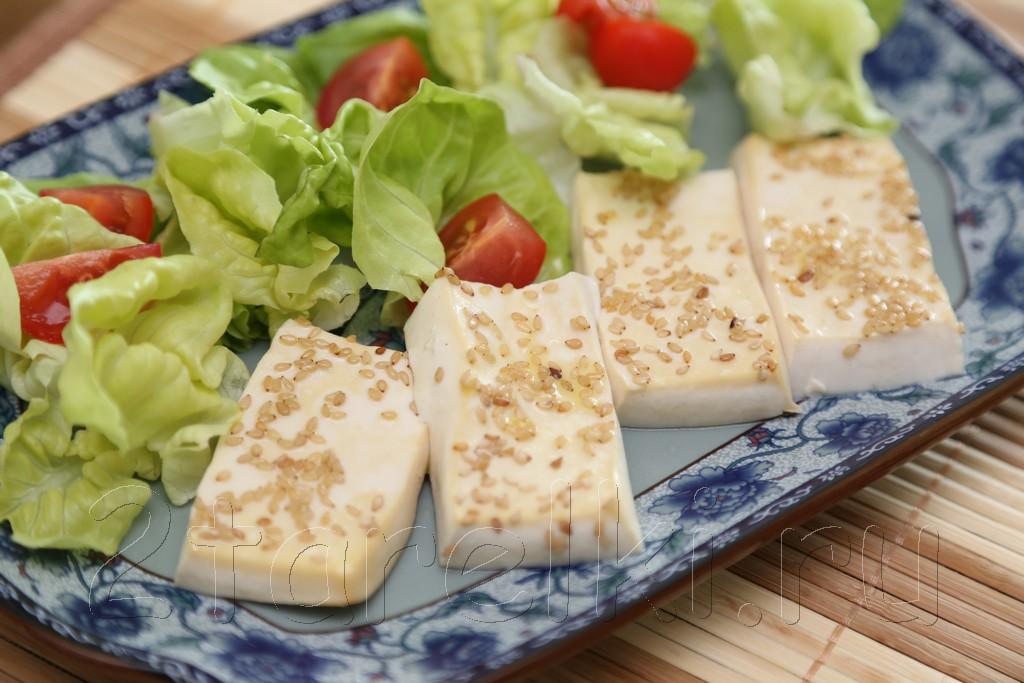 Запеченный тофу с кунжутом 6